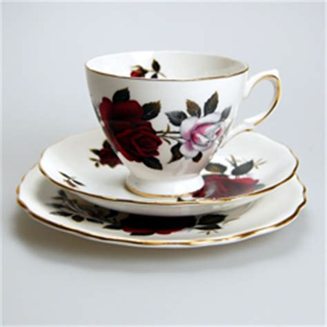 Colclough Bone China Amoretta Tea Cup, Saucer & Plate Bone