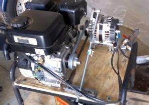 generator homemade generator constructed   gasoline