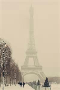 Paris Eiffel Tower Winter