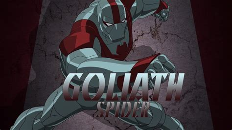 Pics Of White Tiger Goliath Spider Ultimate Spider Man Animated Series Wiki Fandom Powered By Wikia