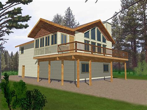 Rock Island Mountain Home Plan 088d-0127