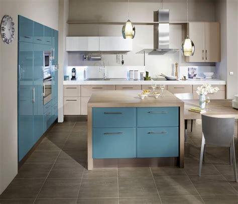 cuisine bleu canard envie d une cuisine en couleurs galerie photos d 39 article