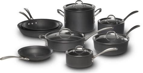 cookware kitchen pots pans ceramic titanium calphalon safe material vs stainless steel construction alices
