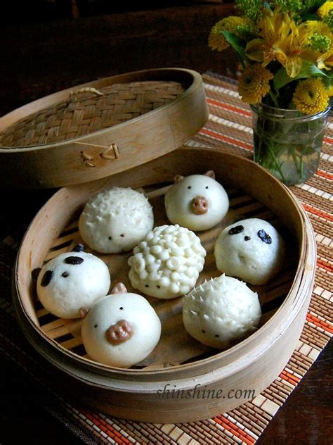tips  steamed buns cute animal shaped steamed buns