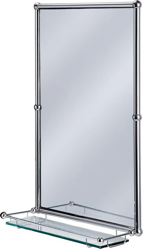 kitchen furniture uk burlington bathrooms chrome rectangular mirror with shelf