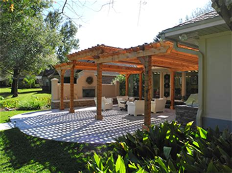 creative design space pergolas jacksonville custom