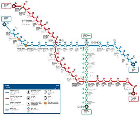 Metro Network Map