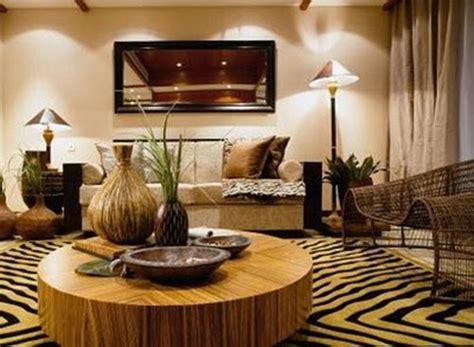 African Living Room Designs : Decorar Al Estilo Africano