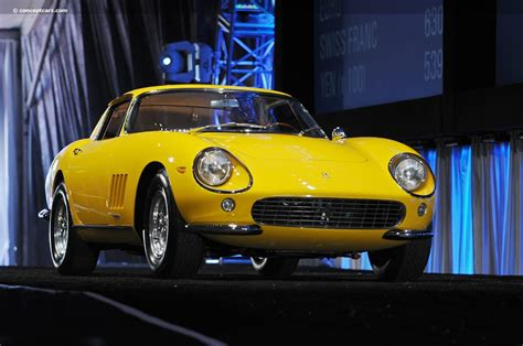 The only noticeable change outside was a bulge down the length of the … Auction results and data for 1965 Ferrari 275 GTB ...
