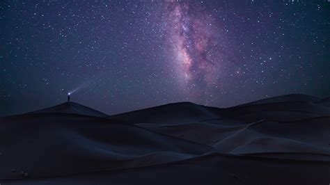 Wallpaper Landscape Galaxy Nature Sky Long Exposure