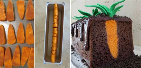 carrot patch cake cooking handimania