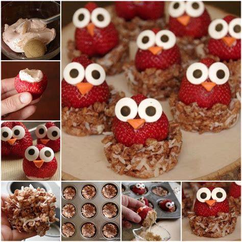 diy treat ideas how to diy cute owl strawberries sweet treats