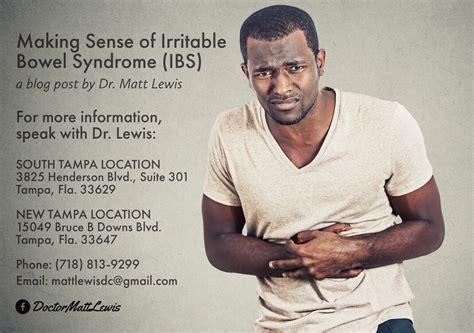 Making Sense Of Irritable Bowel Syndrome Dr Matthew Lewis