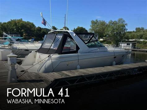 Formula Boats For Sale Minnesota by For Sale Used 1999 Formula 41 In Wabasha Minnesota