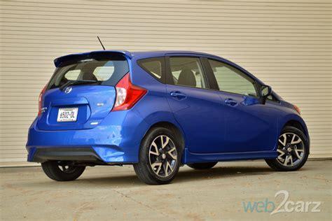 2015 Nissan Versa Note Sr Review