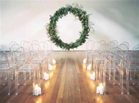 Wedding Decoration Minimalist by A Minimalist Wedding That Packs A Design Punch Celebrate