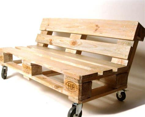 canapé exterieur en palette canape palette bois salon jardin design de maison
