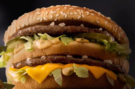 fast cuisine big mac study 64 want fast food chains to take more responsiblity for obesity b t