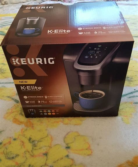 To replace it i bought the k575, but had major problems with the touch screen controls from the git go, so it got returned. Keurig K-Elite Single-Serve K-Cup Pod Coffee Maker In Brushed Slate 10611247369446 | eBay