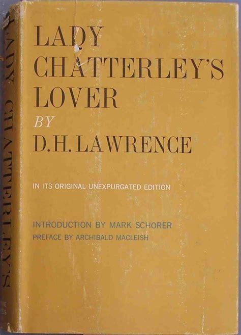 lady chatterley hardback intro mark schorer  york grove