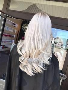 Ansatz Färben Blond : balayage waves long hair nadine domani art of hair olaplex highlights blond ice ~ Frokenaadalensverden.com Haus und Dekorationen