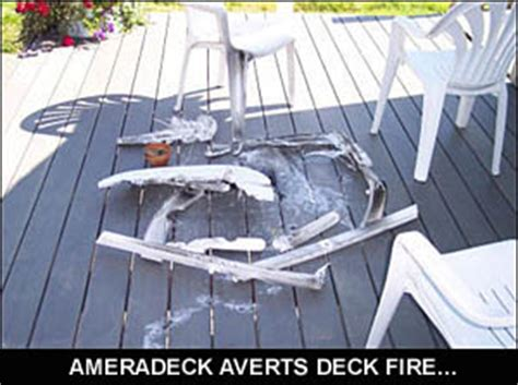 ameradeck decking fire rated decking