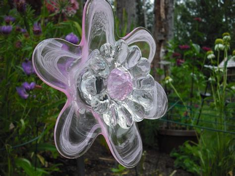 Using Recycled Glass To Make Flowers-diy Glass Flowers