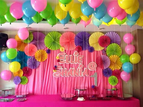 birthday party backdrop ellies st birthday party ideas