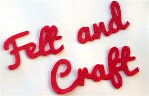best 25 felt letters ideas on pinterest felt templates With felt cut out letters