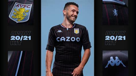 Aston Villa's new 2020/21 away kit ⚫| AVFC
