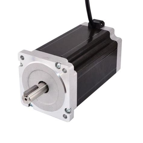 hybrid keyway dual shaft nema  stepper motor nm ozin