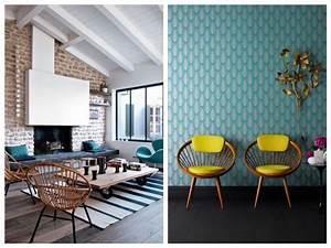 Gallery Of La Dco Bleu Canard Inspiration Salon Ide With