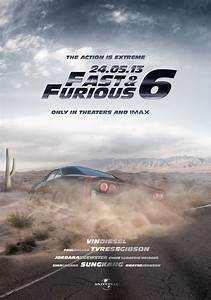Fast and Furious 6 - Poster by kristaps-design on DeviantArt