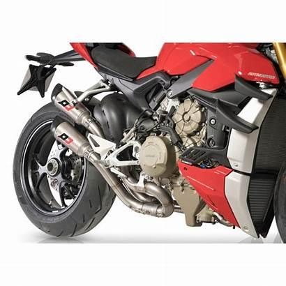 Streetfighter V4 Ducati Exhaust Gunshot Twin Qd