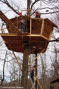 Cabane Dans Les Arbres Construction : abane construction de cabane dans les arbres abane ~ Mglfilm.com Idées de Décoration