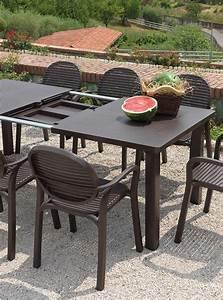 Tavolo da giardino allungabile Levante Nardi