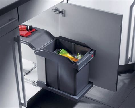 poubelle de cuisine encastrable hailo 3632 hailo ms swing 30 1 20 poubelle