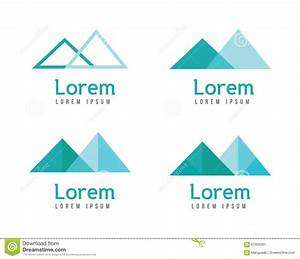 Abstract Mountains Logos. Stock Vector - Image: 61956261