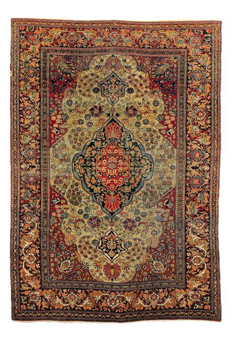asta tappeti tappeto persiano isfhan xix secolo tappeti antichi