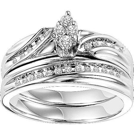 Forever Bride 14 Carat Tw Diamond Sterling Silver