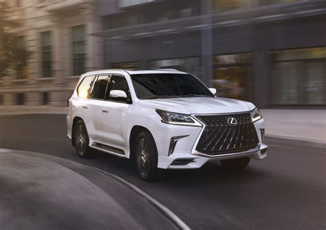 lexus lx  adds sport package starting
