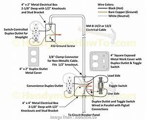 How To Wire A Switch Ground Simple Gfci Receptacle Wiring