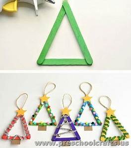christmas craft ideas for kindergarten Preschool Crafts