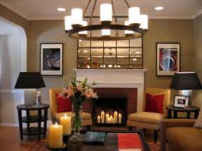 Image of: Hot Fireplace Design Idea Hgtv Make Your Room Larger? Decorating With Mirror