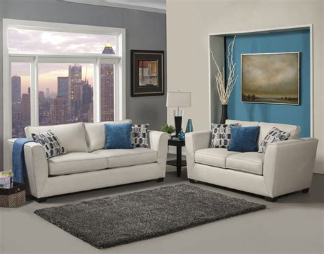 comfortable loveseat modern comfortable beige chenille fabric sofa