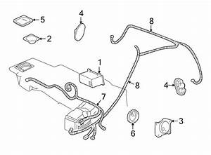 Chevrolet S10 Radio Wiring Harness  Front   Front Speaker