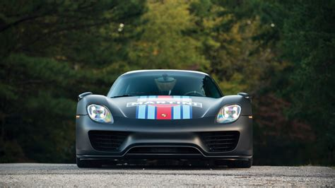 porsche  spyder weissach package martini racing