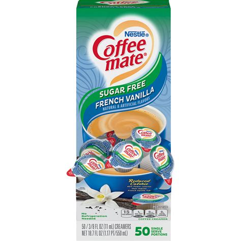 Find great deals on ebay for coffee mate french vanilla sugar free. Nestlé® Coffee-mate® Coffee Creamer Sugar-Free French ...