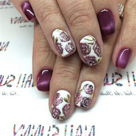 nageldesign winter 2016 nageldesign winter 2016 aktuelle motive und farbtrends