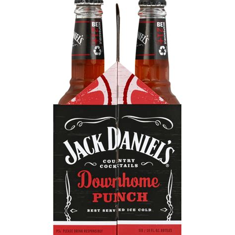 we wanted to unite the brand's signature clack with color, flavor iconography. Jack Daniel's Country Cocktails Downhome Punch (10 fl oz) - Instacart